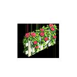 Декорация Весенняя ограда игры Зомби Ферма Мания